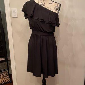 White House black market black dress with pockets